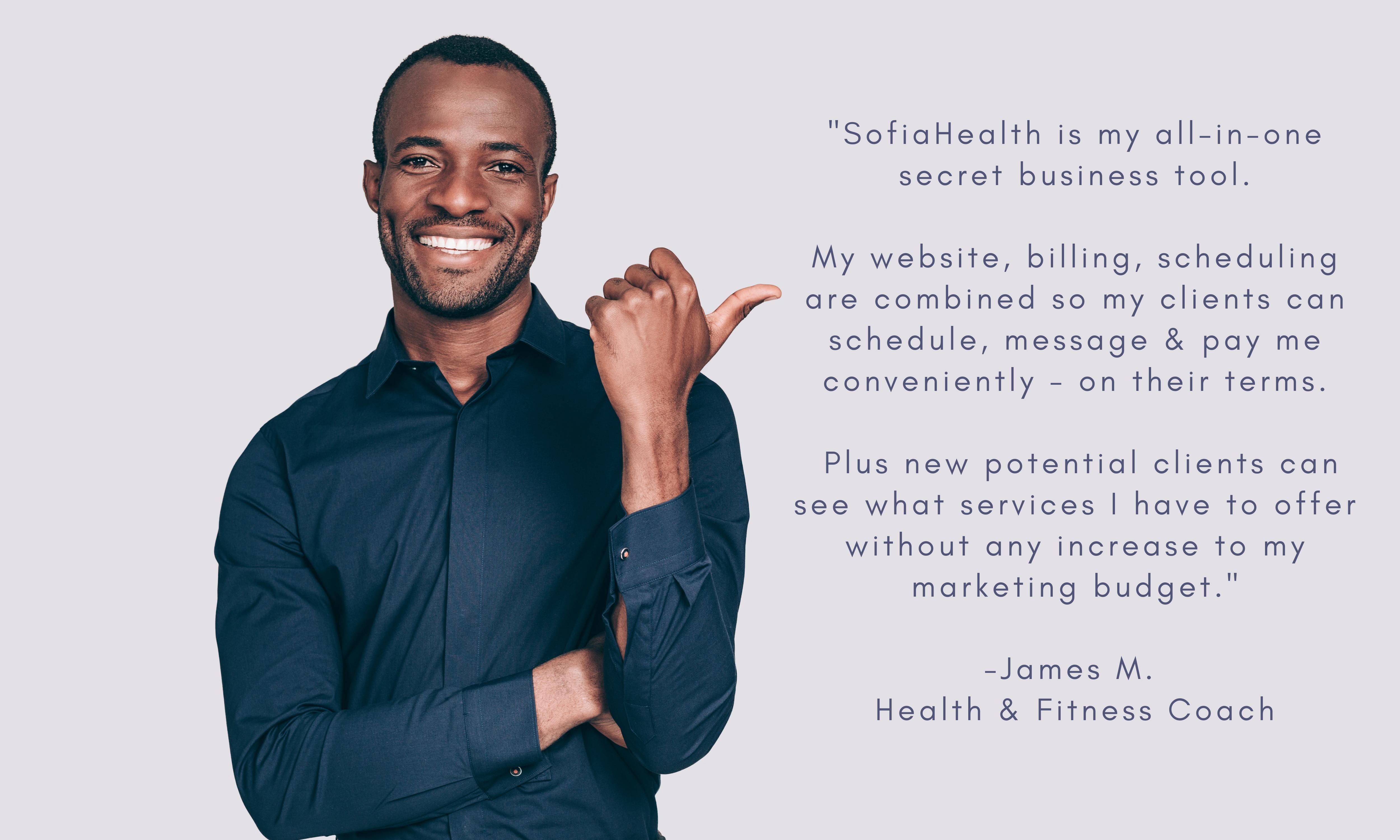 james testimony for sofia health